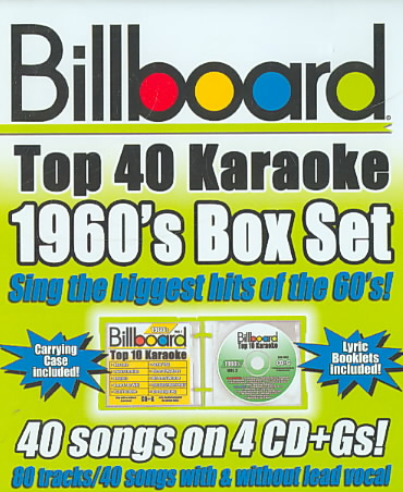 BILLBOARD 1960'S TOP 40 KARAOKE BOX S (CD)