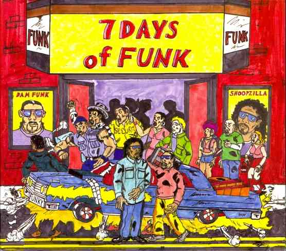 7 DAYS OF FUNK BY 7 DAYS OF FUNK (CD)